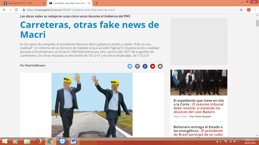 macri fake news